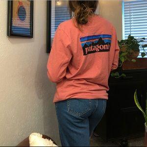 Patagonia Shirts - Pink long sleeve Patagonia shirt